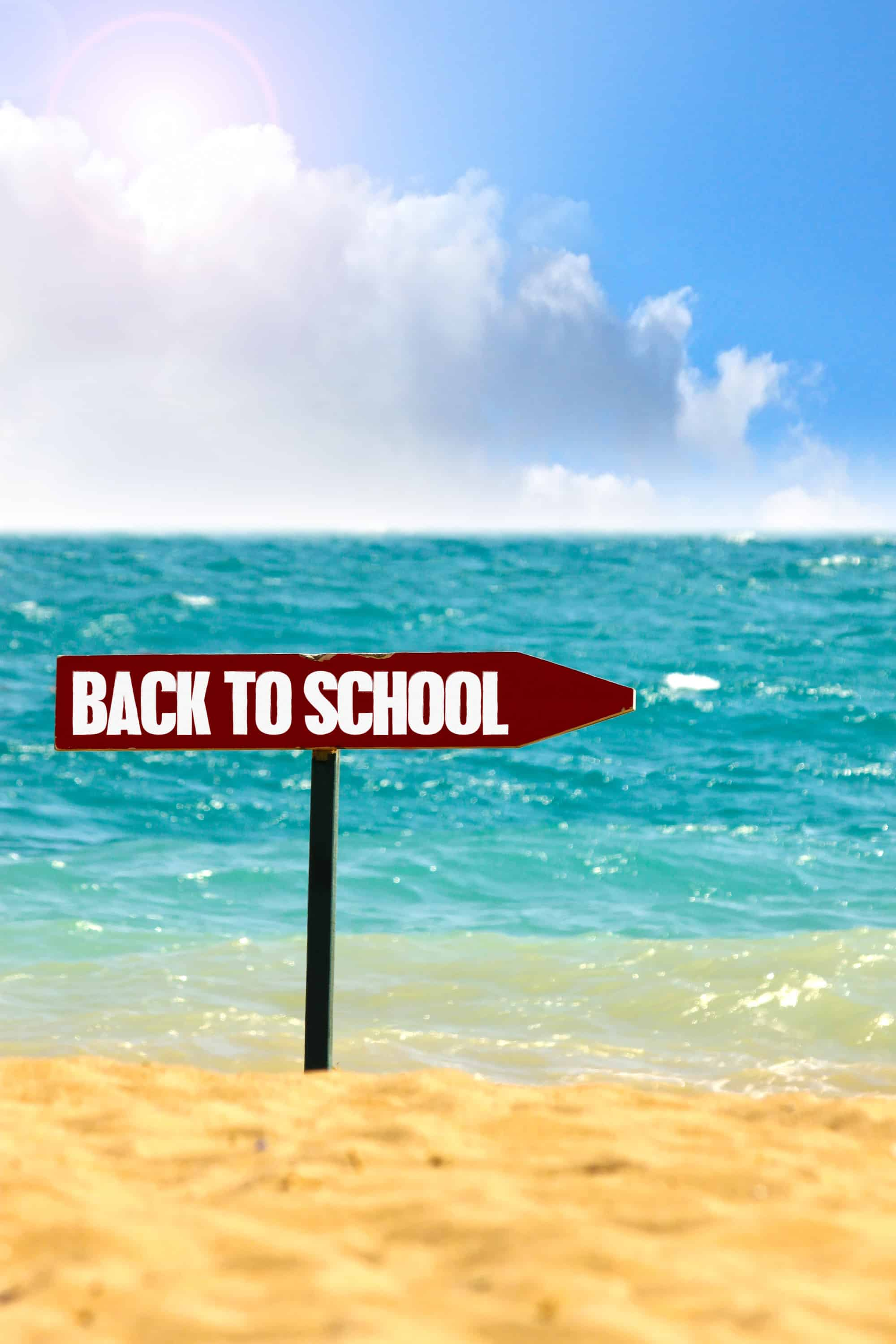 Image result for back to school beach